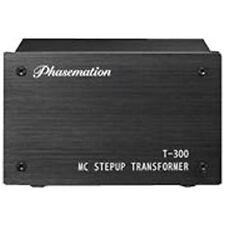 Phasemation T-300 High-performance MC Cartridge Step Up Transformer Japan new .