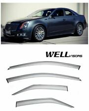 For 08 13 Cadillac Cts Sedan Wellvisors Side Window Visors Premium Series Fits 2010 Cadillac Cts