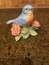 New ListingLenox Bird Eastern Bluebird 3 1/2� Tall 4� Wide Hand Painted
