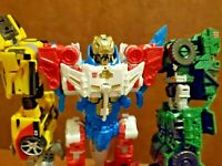 5 Transformers Combiner Wars Sky Reign w/Weapons & Accessories Lot RARE w/Comics
