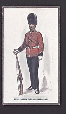More details for hill - types of british army (verbena) - #9 royal dublin fusiliers (sergeant)