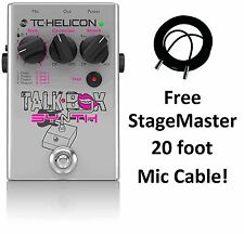 New TC-Helicon TalkBox Synth Vocal Correction Reverb Effects Pedal!
