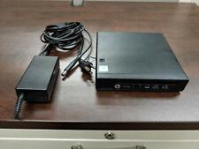 HP ProDesk 600 G2 Mini – Core i5 2.56GHz - 8GB RAM-500GB HDD - Wireless - Win10