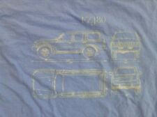 Toyota land Cruiser FJ60 FJ40 FJ55 FZJ80 Landcruiser Tshirt Light blue Small