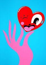 Hattie Stewart - Pinch Me - Signed Limited Edition Print + Banksy Sticker