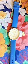 KATE SPADE NEW YORK METRO ALICE BLUE WOMEN'S LEATHER STRAP WATCH