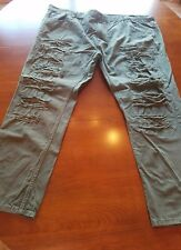 Mens South Pole Jeans Green 50x34