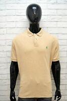 Maglia RALPH LAUREN Taglia 3XL Polo Manica Corta Shirt Cotone Hemd Camisa Casual