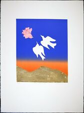 Signed by Mireille Kramer Vintage Print, VTG Abstract Etching, Limited Edition