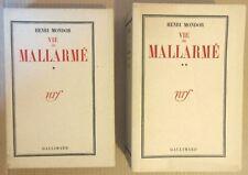 HENRI MONDOR VIE DE MALLARME EO N°1 (sur 7) du TIRAGE DE TETE sur JAPON IMPERIAL