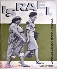 ISRAEL TODAY AND YESTERDAY 1966 english and ebraic text fotografico Israele