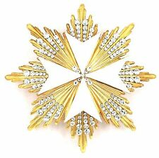 RUSSIAN IMPERIAL ORDER OF ST JOHN OF JERUSALEM WITH SWAROVSKY CRYSTALS STAR