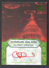 Mars Attacks Invasion (2013) Autograph Card Classic Creator Charles Adlard