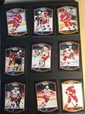 TEAM SETS  - Detroit Red Wings U-Pick From List Hockey Cards /MAD