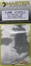 Master 1/48 Focke Wulf Fw190A-2 to A-5 Armament Set and Pitot Tube 48017