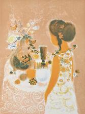 """"""" Nature morte avec fleurs """" PAR FREDERIC MENGUY signée Lithographie Le #176/200"""