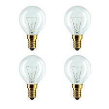 4 X Bosch Neff Siemens Hotpoint AEG 40W 240V SES E14 Oven Cooker Bulb 300°*240v