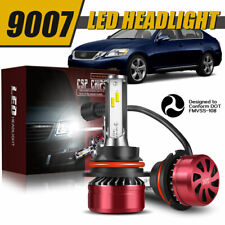 9007 HB5 LED Headlight Bulb High Low Beam Conversion for Dodge Grand Caravan DWD