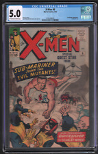 X-Men #6 7/64 Marvel Comics CGC 5.0 Sub-Mariner Appearance 042721DBCG