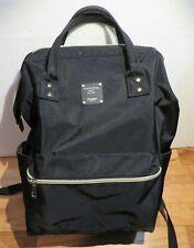 Bebamour Backpack Baby Diaper Bag, Book Bag School Bag Doctor Style Casual Black