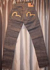 EVISU MILLENIUM NATURAL SPECIAL Jeans 26/35 22K Gold Thread NEW #64