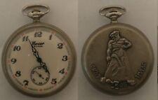Corsar Molnija 18 Steine USSR Soviet Russian Antique Pocket Watch Skaz ob Urale