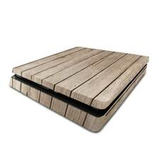 Pine Wood Planks PS4 Slim Skin / PlayStation 4 Slim PS4 Slim Skin Sticker Cover