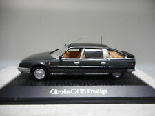 CITROEN CX 25 PRESTIGE TURBO 2 PRESIDENTIAL CARS JACQUES CHIRAC NOREV ATLAS 1:43