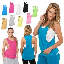 Urban Classics Mujeres Suelto Camiseta de Tirantes Top 5 Colores XS - XL