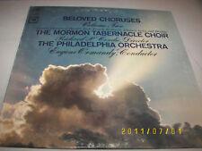 Beloved Choruses Vol 2 Ormandy, Mormon Taber. LP NM