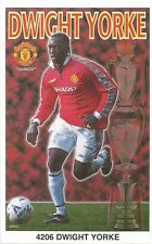 1999 Dwight Yorke MANCHESTER UNITED Original Starline Poster OOP