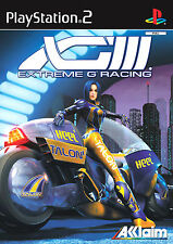 Extreme g3-xg3 (Sony PlayStation 2, 2001, DVD-box)