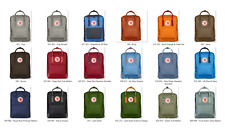 Fjallraven Kanken Leisure sports backpack canvas bag, various styles 7L/16L/20L