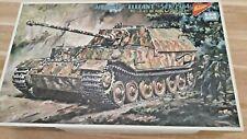 Nichimo 1/35 Jagdpanzer Elefante Sdkfz 18 Modelo Kit De Control Remoto Tanque Motorizado