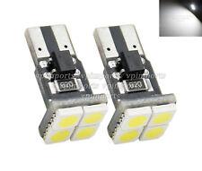 LED SMD Wedge 501 Capless T10 Xenon White Interior Door Reading Light Bulbs 12V