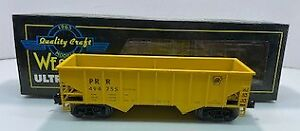 Weaver U1131L PRR 3-Rail Coal Car #494755 EX/Box