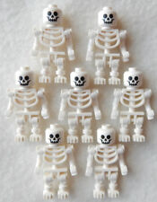 7 NEW LEGO SKELETON LOT halloween minifig minifigure figure pirates castle toy