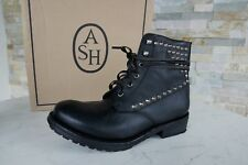 Ash 41 Boots Lace up Boots Boots Shoes Vintage Rocky Black New Ehemuvp