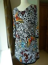 Beautiful Joseph Ribkoff Butterfly Print Dress - UK 14 - Excellent Condition!