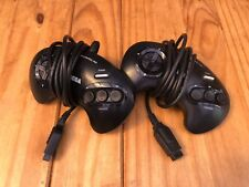 Sega Megadrive 1 MD Controller Official Black original genuine pad