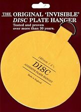Plate Hanger Set Adhesive Totally Invisible Safety Extra Large 4-5.5 Inches