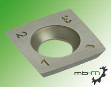 10Stk. Vorschneider Wendeplatten / Wendemesser HM 14 x 14 x 2 mm