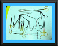 12 Each Arthroscopic Rhinoscopy Instruments Set  Stainless Steel