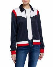 NWT $79.00 Tommy Hilfiger Colorblock Jacket. Navy. Size:...
