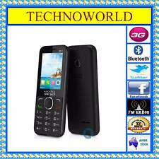 UNLOCKED ALCATEL 2045+3G EASY TO USE VIRGIN/COLES/LEBARA/VAYA/DODO/MOOSE SIM