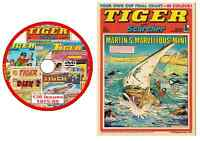 Tiger Comics 575 issues and 18 specials1955-1985 on 593 in total on 4 PCDVD ROMs