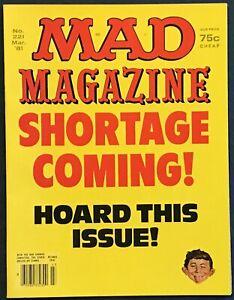 Mad Magazine #221  March 1981