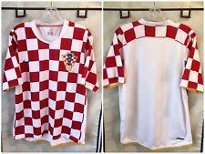Croatia 2006/08 Home International Soccer Jersey Large Nike
