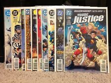 Young Justice 8,9,10,11,12,13,14,15,16,17,18 Comic Lot DC 1998 Peter David
