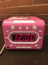 Hello Kitty Am/Fm Stereo Cd Dual Alarm Clock Radio